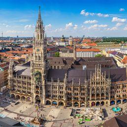 La Marienplatz à Munich