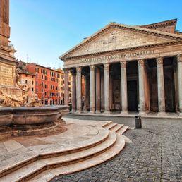 Visite du Panthéon à Rome