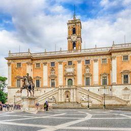 Visite de la place du Capitole à Rome